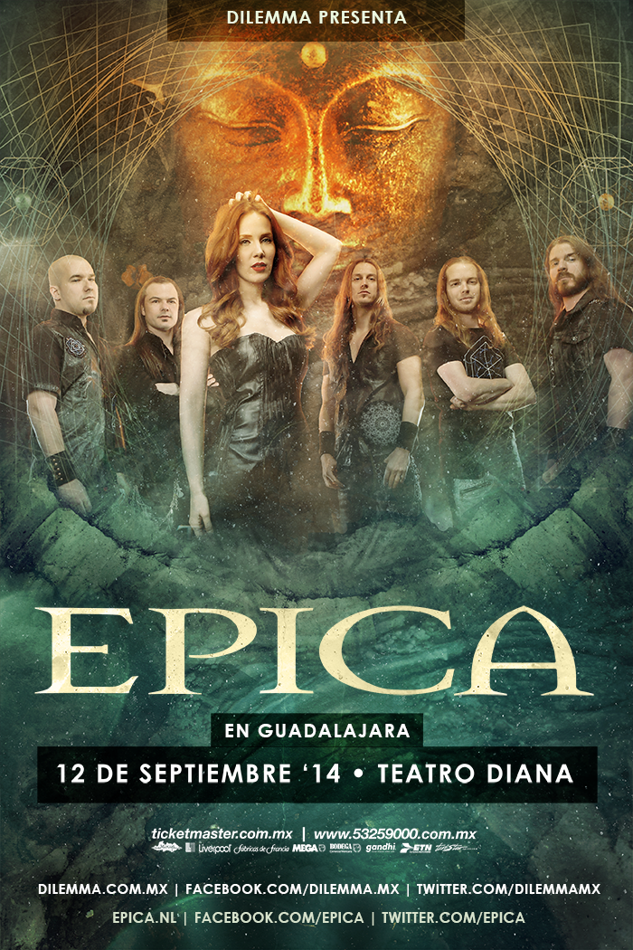 Interview with Dutch metal icons EPICA !!!!! - Any Louder